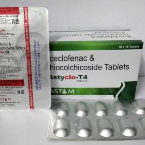 Aceclofenac Thiocolchicoside Tablets